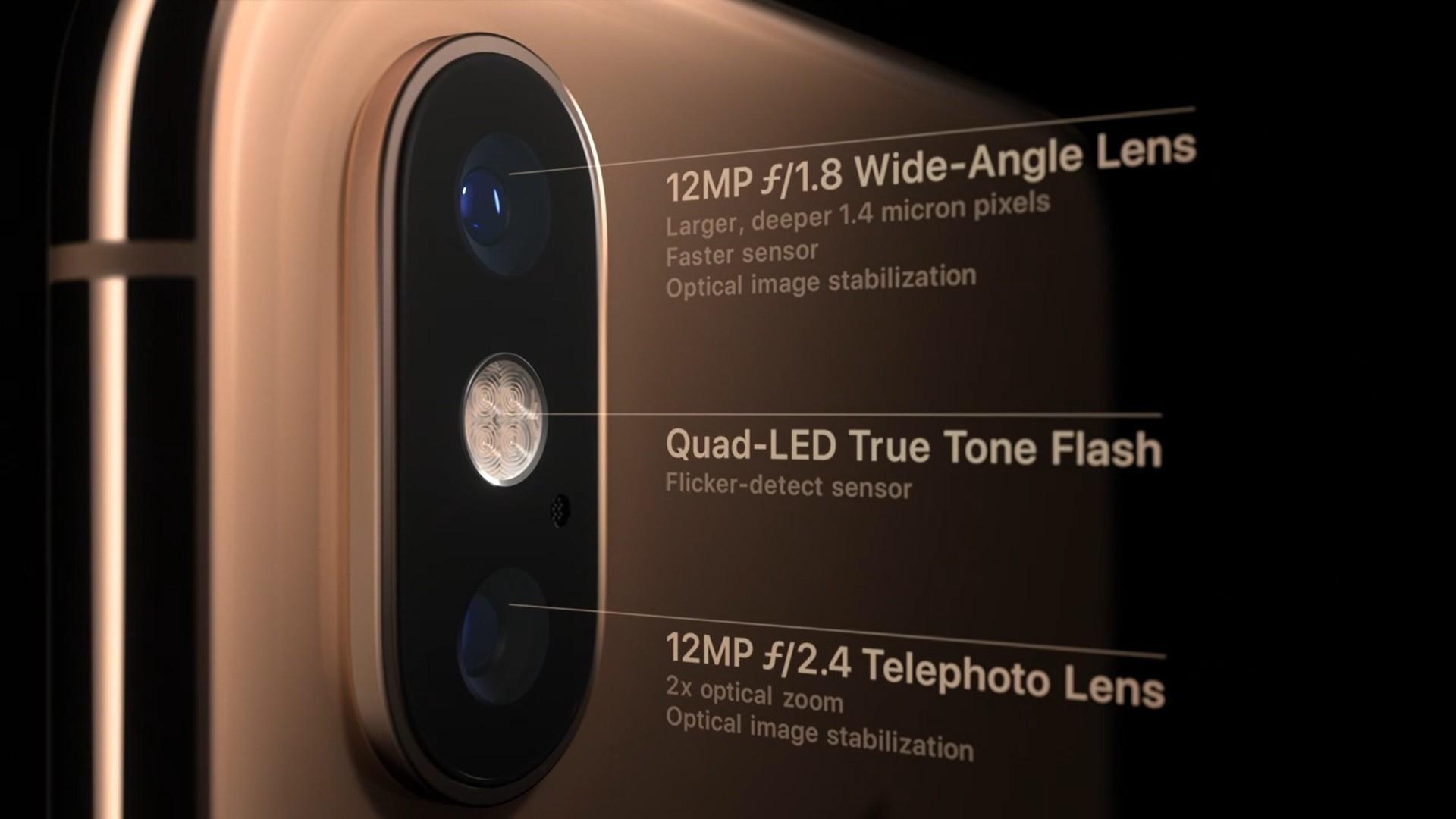 كاميرا iPhonexs و مواصفات ايفونxs
