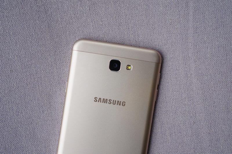 كاميرا هاتف Samsung Galaxy J7 prime