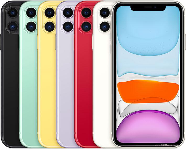 الوان iPhone 11