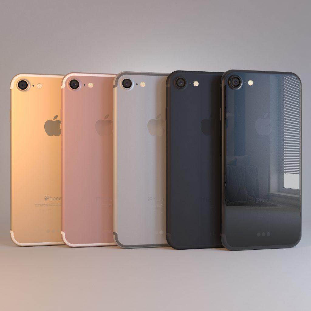 الوان هاتف ايفون7