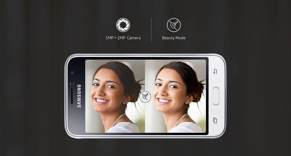 كاميرا هاتف Samsung Galaxy J1 2016