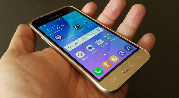 عيوب هاتف Samsung Galaxy J1 2016