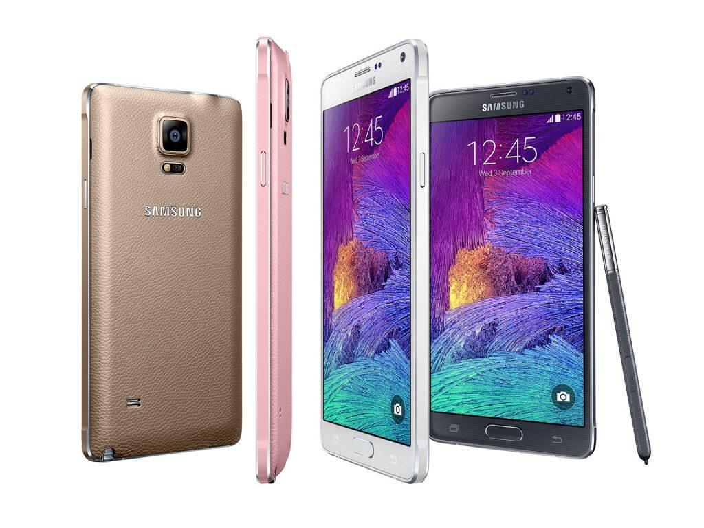 الوان هاتف Samsung Galaxy Note 4