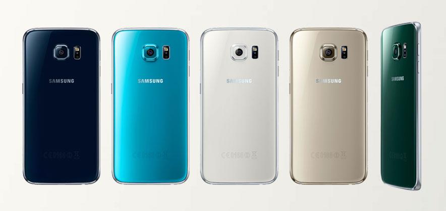 الوان هاتف Samsung S6 Edge