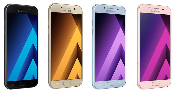 الوان هاتف Samsung Galaxy A5 2017