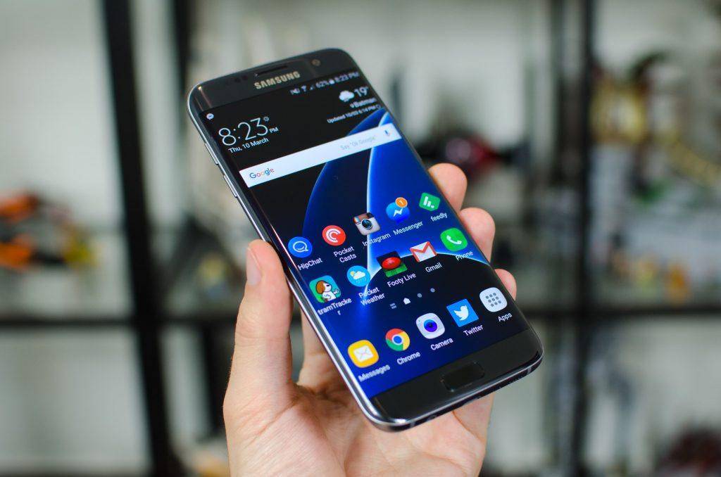 شاشة هاتف Samsung S7 Edge