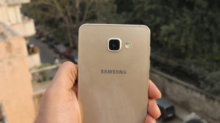 كاميرا هاتف Samsung Galaxy A7 2016