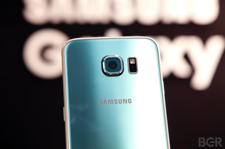 كاميرا هاتف Samsung S6 Edge
