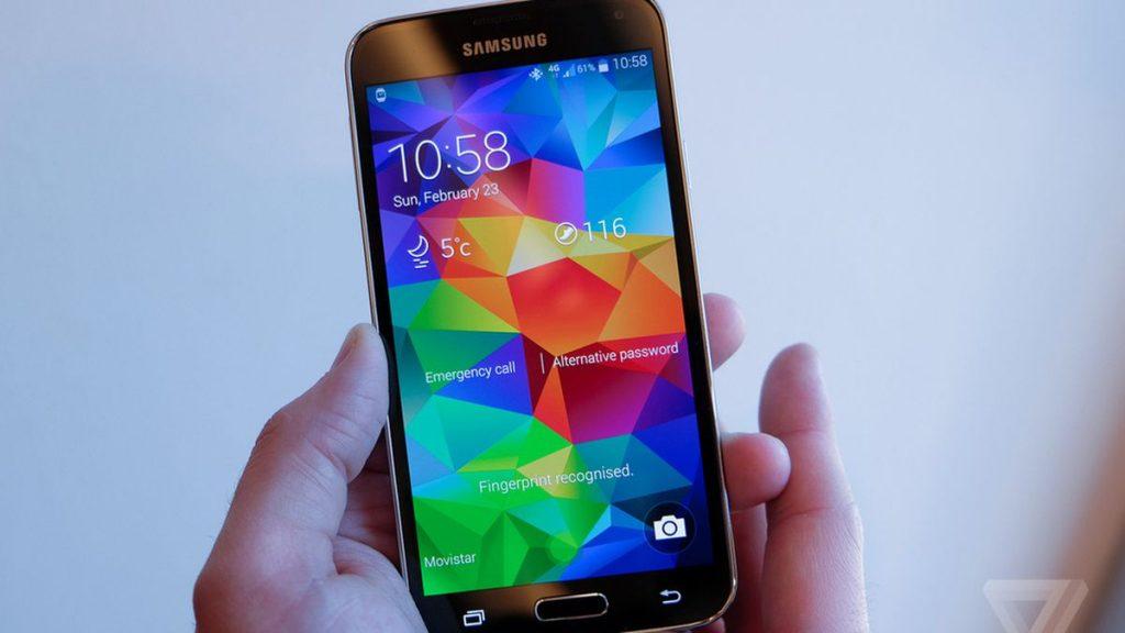 مميزات هاتف Samsung Galaxy S5