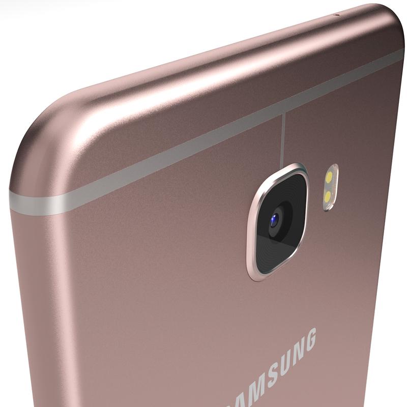 كاميرا هاتف Samsung Galaxy C7