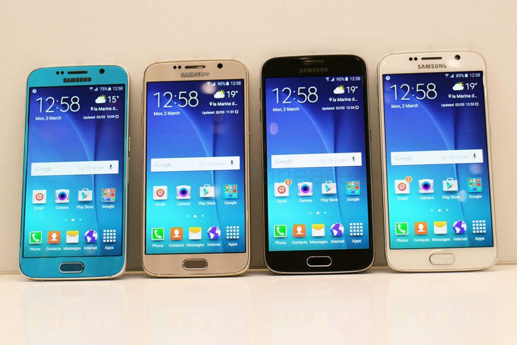 الوان هاتف Samsung Galaxy S6