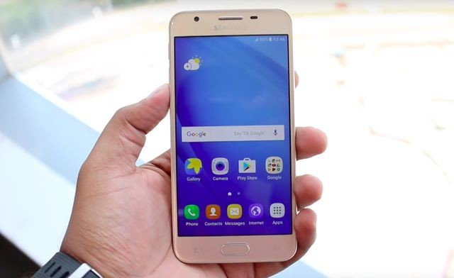 شاشة هاتف Samsung J5 prime