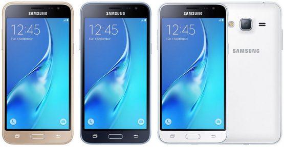 الوان هاتف Samsung J3 2016