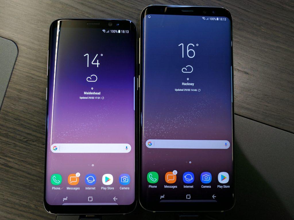 عيوب هاتف Samsung Galaxy S8 Plus