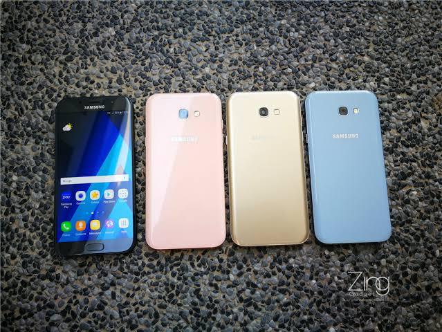 الوان هاتف Samsung Galaxy A7 2017