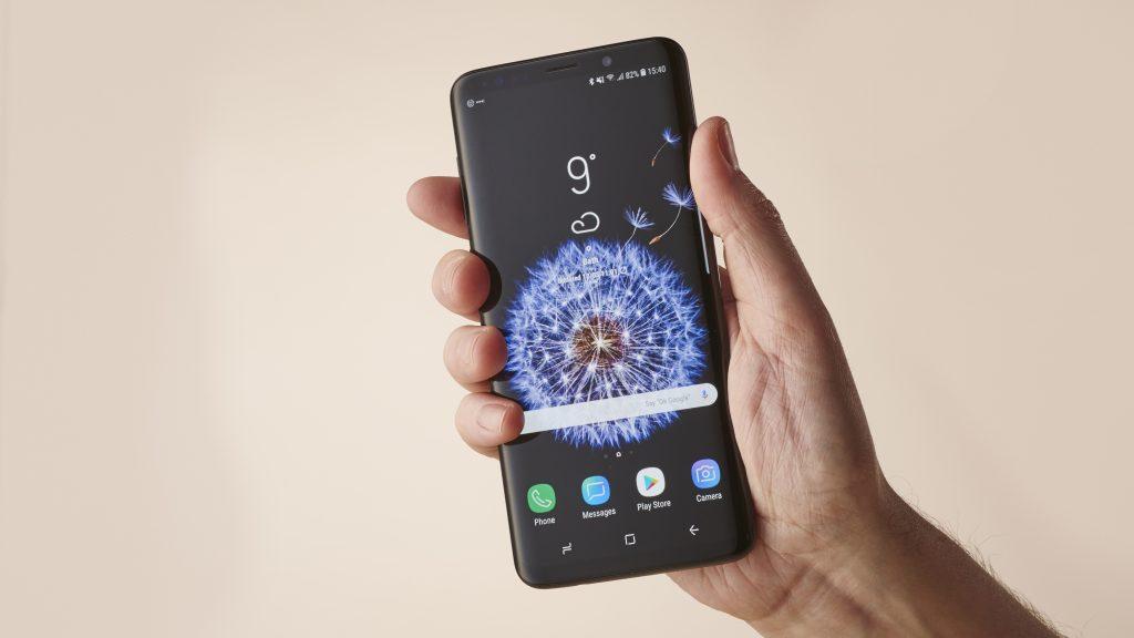 شاشة هاتف Samsung Galaxy S9 Plus