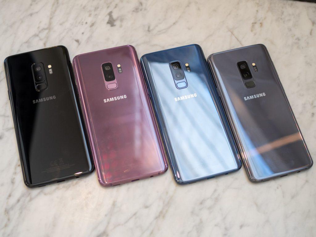 الوان هاتف Samsung Galaxy S9 Plus