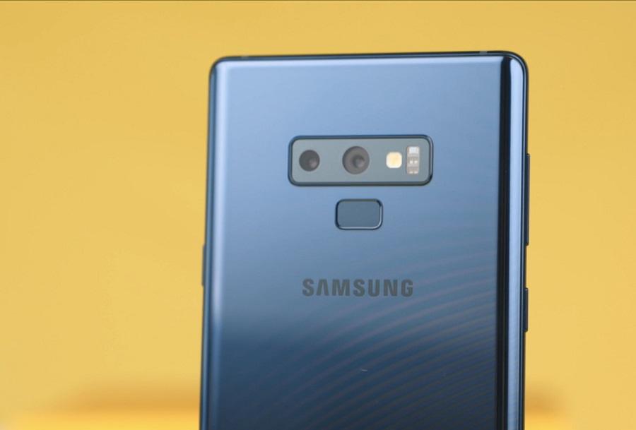 كاميرا هاتف Samsung Galaxy Note 9