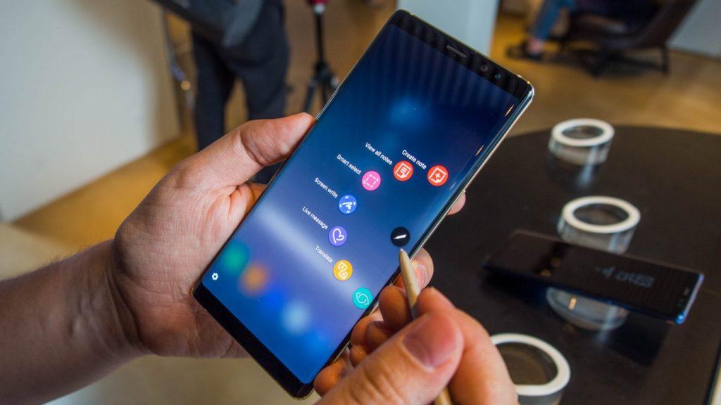مميزات هاتف Samsung Galaxy Note 9