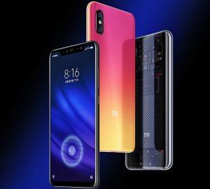الوان هاتف Xiaomi Mi 8 Pro