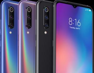 الوان هاتف Xiaomi Mi 9