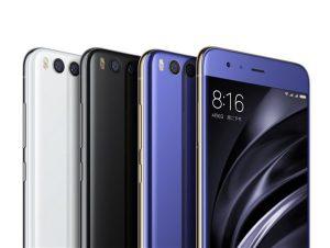 الوان Xiaomi Mi 6