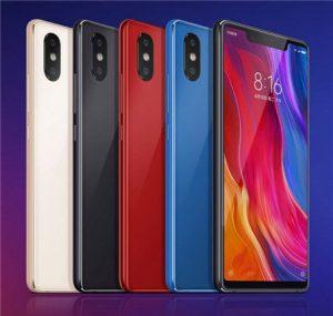 الوان Xiaomi Mi 8 SE