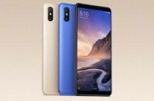 الوان Xiaomi Mi Max 3