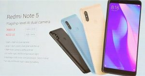 الوان Xiaomi Redmi Note 5