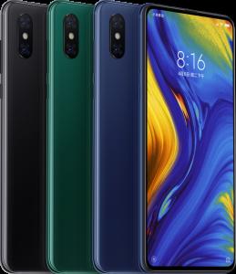 الوان هاتف Xiaomi Mi Mix 3