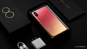 محتويات علبة هاتف Xiaomi Mi 8 Pro