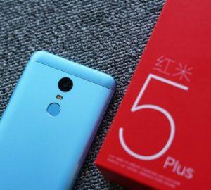 محتويات علبة Xiaomi Redmi 5 plus