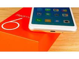 محتويات علبة Xiaomi Redmi 6