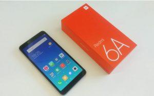محتويات علبة Xiaomi Redmi 6A