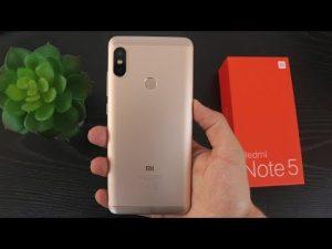 محتويات علبة Xiaomi Redmi Note 5