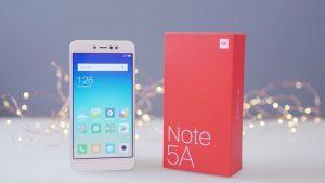 محتويات علبة Xiaomi Redmi Note 5A
