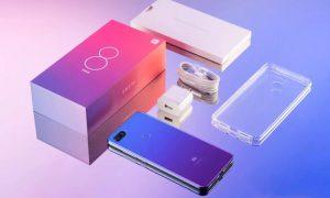محتويات علبة هاتف Xiaomi Mi 8 Lite
