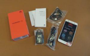 محتويات صندوق هاتف Huawei Y6