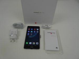 محتويات صندوق هاتف Huawei P9 Plus