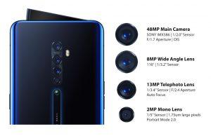 كاميرا هاتف Oppo Reno 2