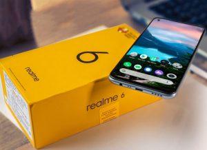 شاشة هاتف Realme 6