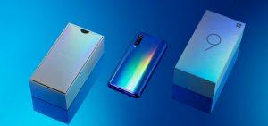 محتويات علبة هاتف Xiaomi Mi 9