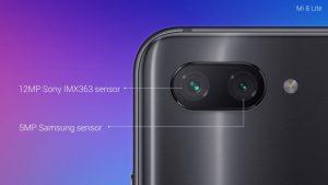 كاميرة هاتف Xiaomi Mi 8 Lite