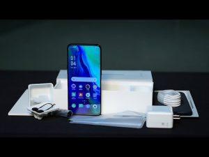 محتويات علبة هاتف Oppo Reno 10x