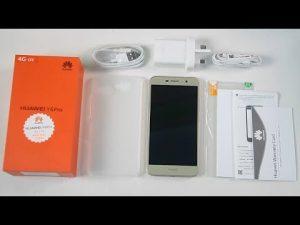 محتويات صندوق هاتف Huawei Y6 Pro