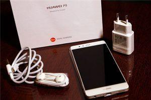 محتويات صندوق هاتف Huawei P9