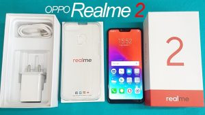 محتويات علبة هاتف Realme 2 :-