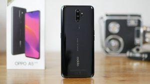 محتويات علبة هاتف Oppo A5 2020