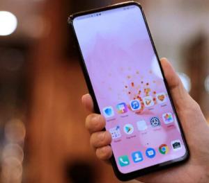 شاشة هاتف Huawei Y9 Prime 2019