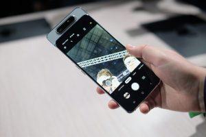 كاميرا هاتف Samsung Galaxy A80